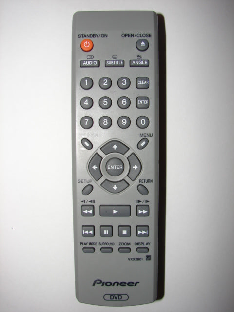 VXX2801 Pioneer DVD Player Remote Control