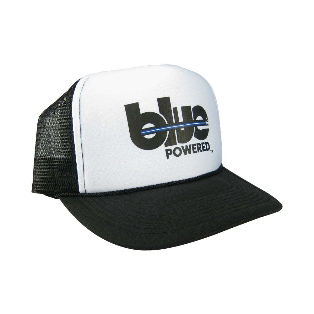 Blue Powered - Snapback Trucker - Blue Powered - blue-powered.com