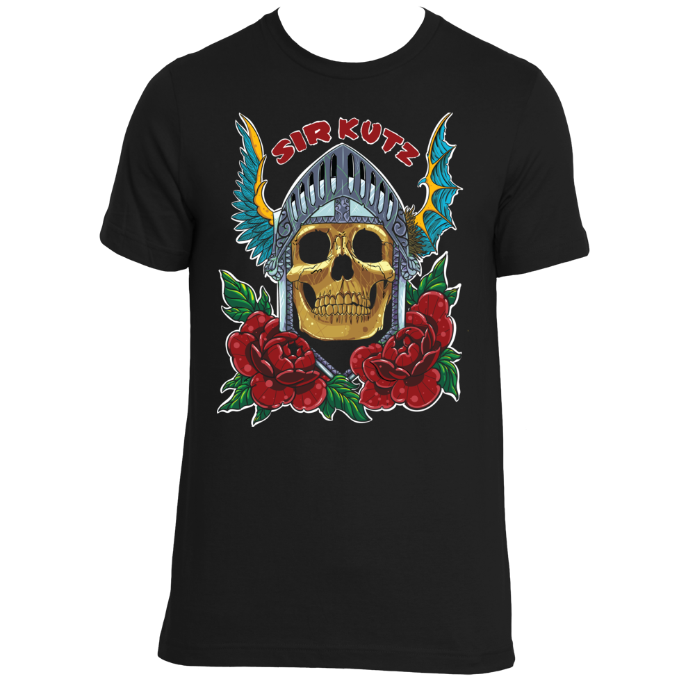 SIR KUTZ SKULL KNIGHT Mens Shirt