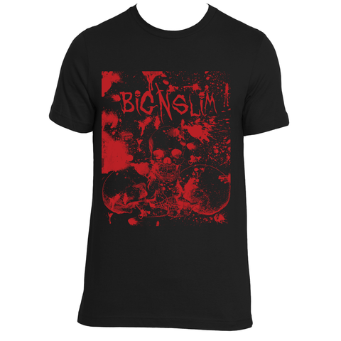 Big N Slim Red Skull shirt