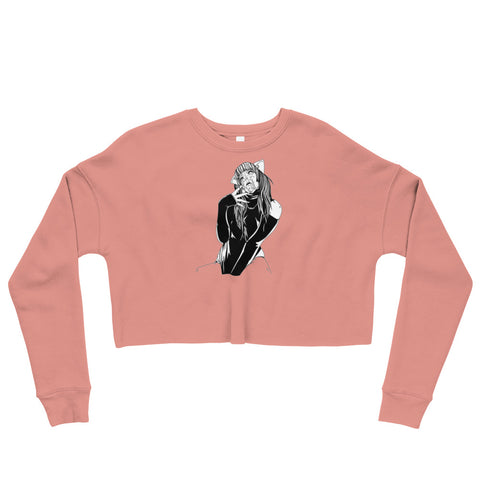 Waifu Crop Sweatshirt