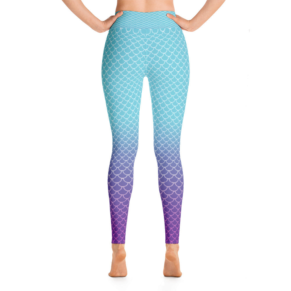 Dark Euphoria Siren High-waisted Leggings