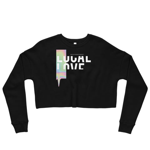 LOCAL LOVE Vol 1. Crop Sweatshirt