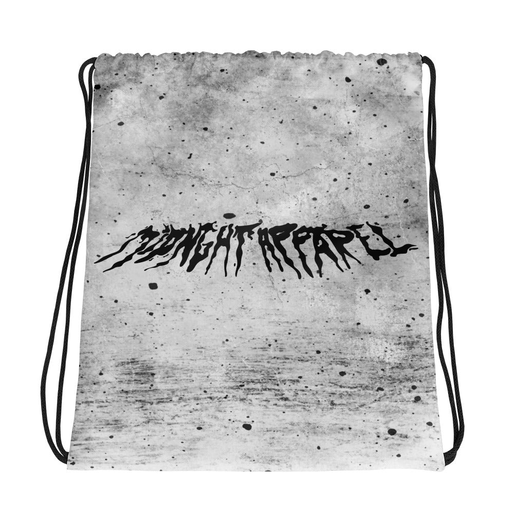 Bloody Midnight Apparel Drawstring bag