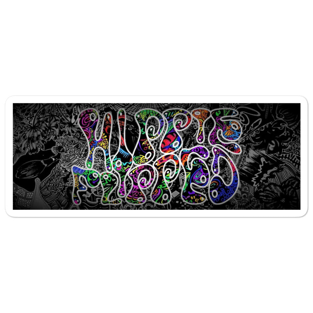 HippieFlipped Sticker