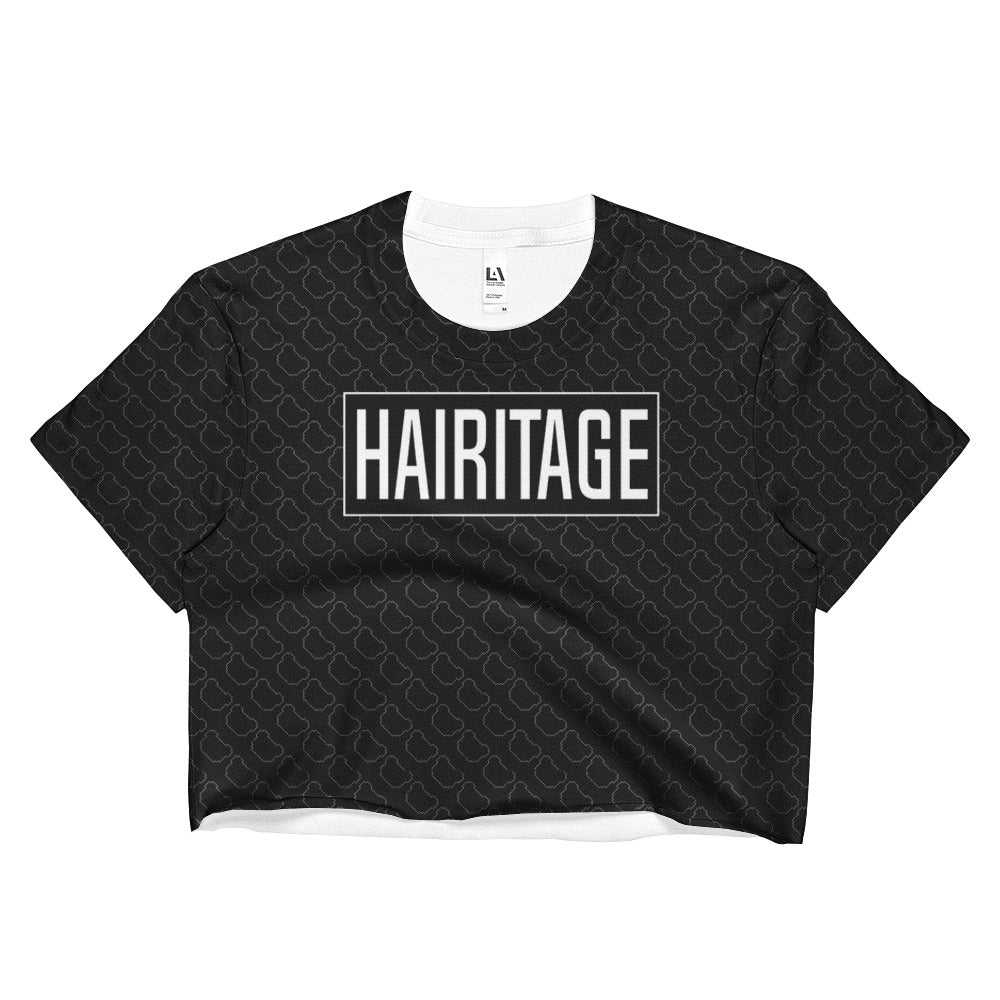Hairitage Ladies Crop Top