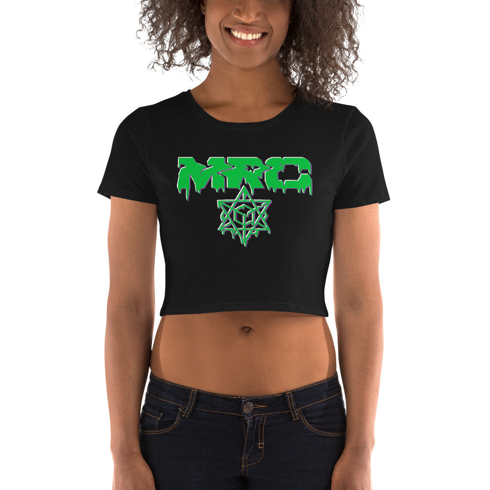 MRC Drip Crop top (Green)