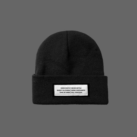 The Motto Cuff Beanie
