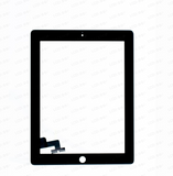 iPad 2 Black Digitizer Touch Screen + Adhesive (High Copy)