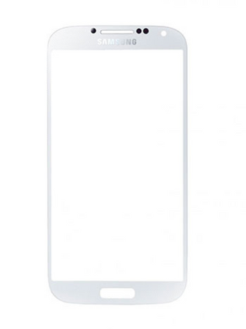 Samsung Galaxy SIV Front Glass White HQ
