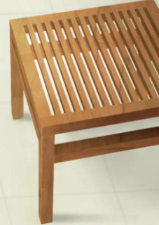 teak, side table, outdoor furniture, kinnell & posch