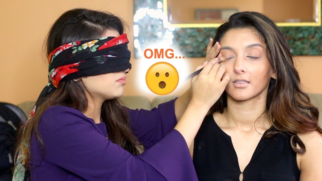 Blindfold Challenge PT.2 | FictionallyFlawless Beats My Face