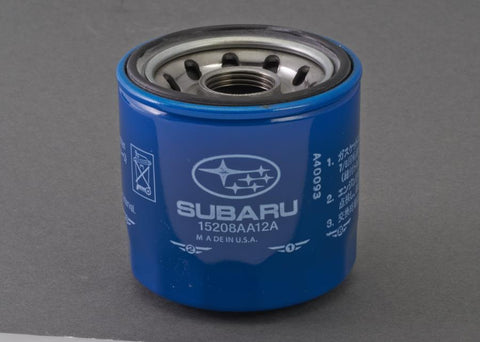Subaru Genuine OEM Oil Filter and Gasket Package WRX 2002-2014 & STI 2004+