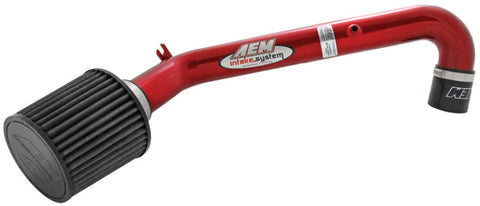 AEM 96-00 Civic CX DX & LX Red Short Ram Intake
