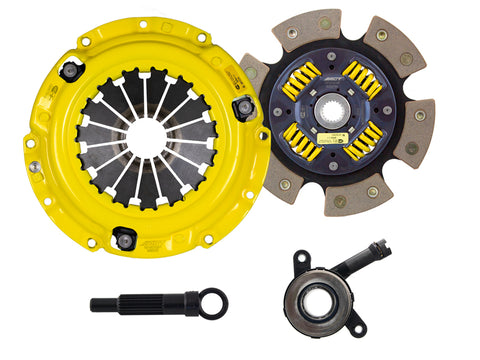 ACT 08-17 Mitsubishi Lancer GT / GTS HD/Race Sprung 6 Pad Clutch Kit