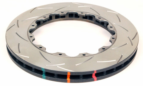 DBA 09-11 Nissan GTR R-35 Front Slotted T3 5000 Series Replacement Friction Ring ONLY