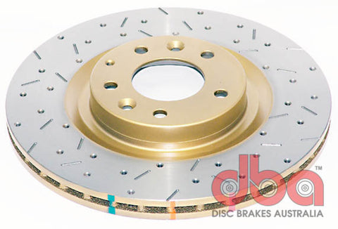DBA 03-10 RX-8 Sport Suspension Front Drilled & Slotted 4000 Series Rotor