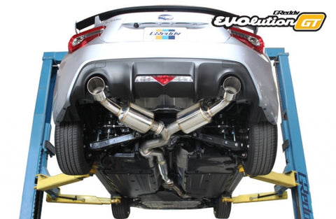 GReddy EVOlution GT Catback Exhaust 2017+ Toyota 86/BRZ