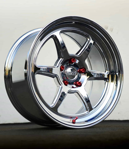 Kansei Wheels Roku Formlite Chrome