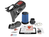 aFe Momentum Black Series Carbon Fiber CAIS w/Pro 5R Filter 17-18 Honda Civic Type R I4-2.0L (t)