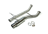 ISR Performance GT Single Exhaust - Nissan R32 Skyline GTS-T