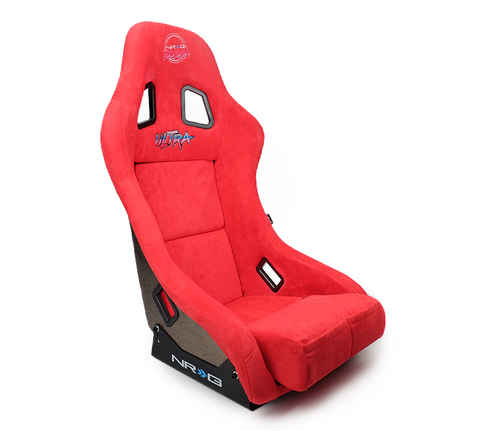 NRG Prisma Ultra Bucket Seat Red (Medium)