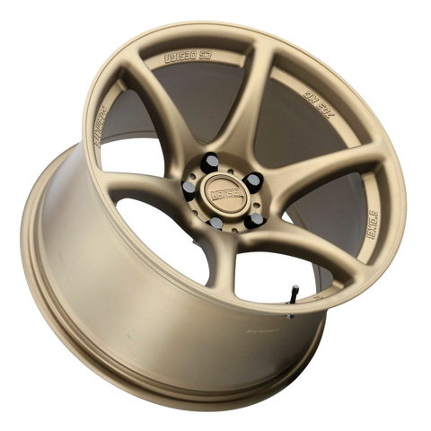 Kansei Wheels Tandem Textured Bronze