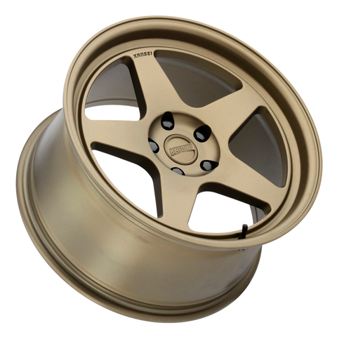 Kansei Wheels KNP 1 Piece Textured Bronze