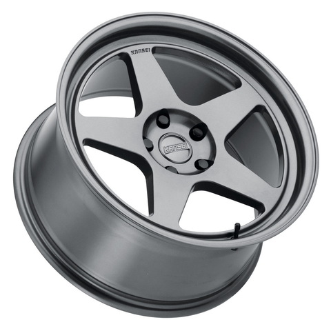 Kansei Wheels KNP 1 Piece Gloss Gunmetal