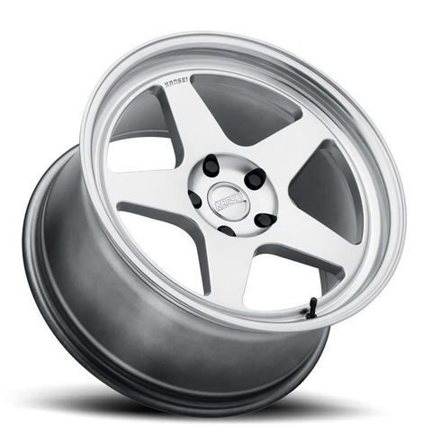 Kansei Wheels KNP 1 Piece Hyper Silver Polished Lip