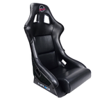 NRG Prisma Bucket Seat Black Vinyl (Large)