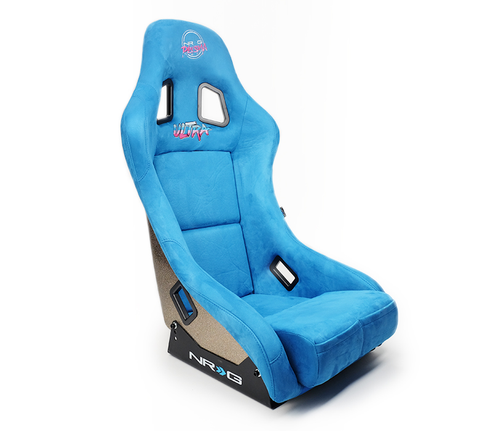 NRG Prisma Ultra Bucket Seat Blue  (Medium)