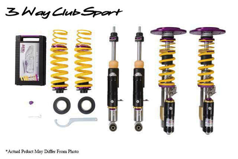 KW Suspension 3 Way Clubsport Coilovers Toyota 86/FRS/BRZ