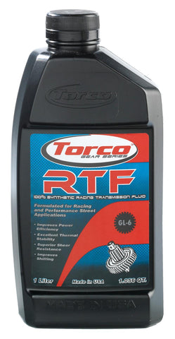 Torco RTF Racing Transmission Fluid (100% Synthetic)