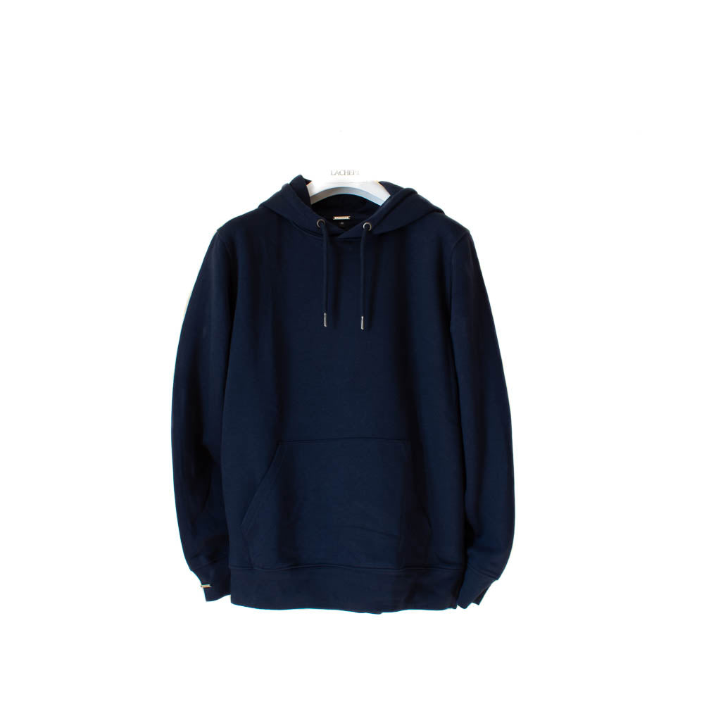 LACHERE Navy Hoodie Smart Fit Organic Cotton