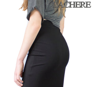 LACHERE Stretch Pencil Skirt Tube