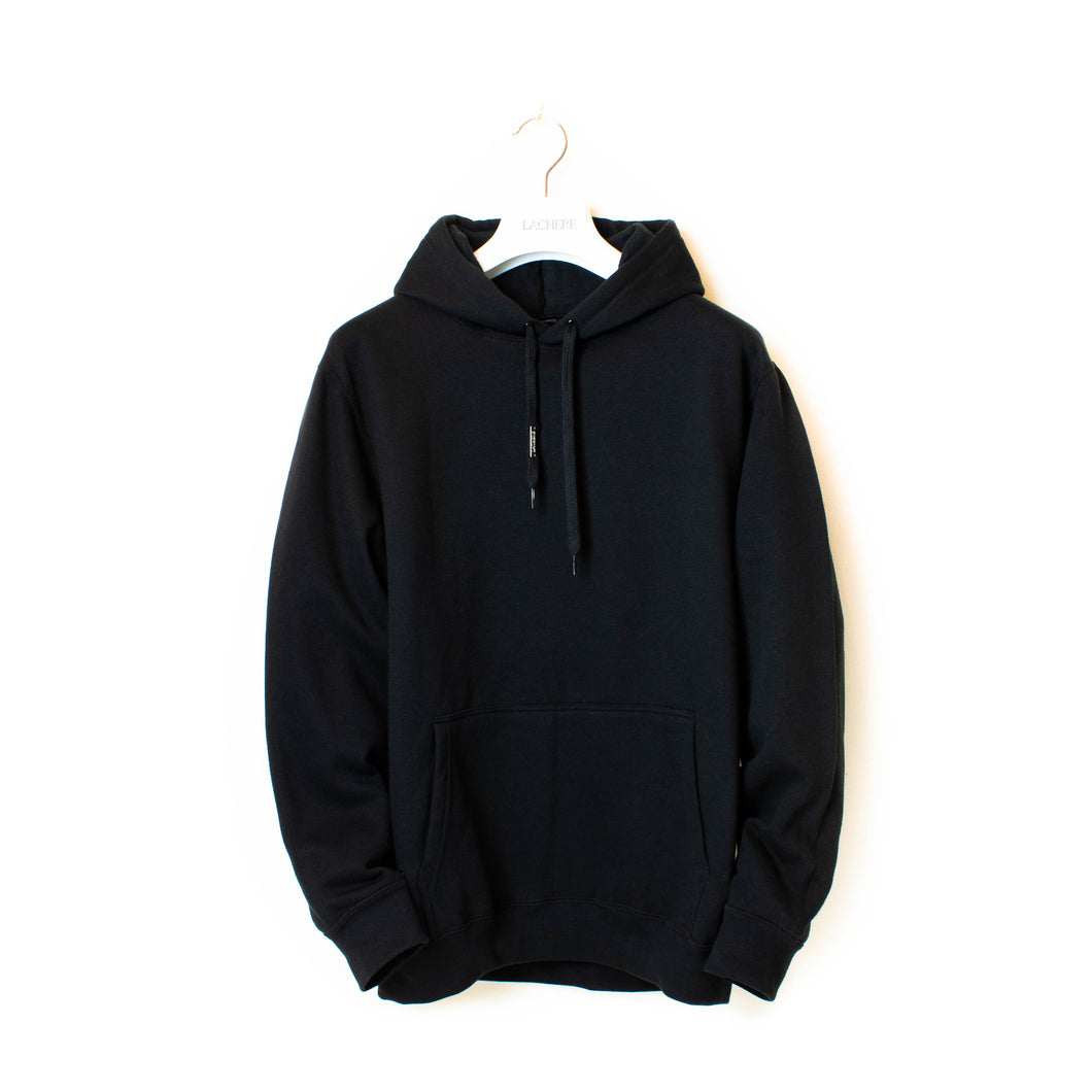 LACHERE Black Hooded Sweatshirt - LACHERE