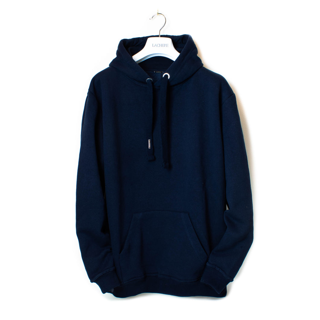 LACHERE Navy Oversized Hoodie
