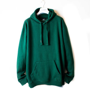 LACHERE Oversized Green Hoodie - LACHERE