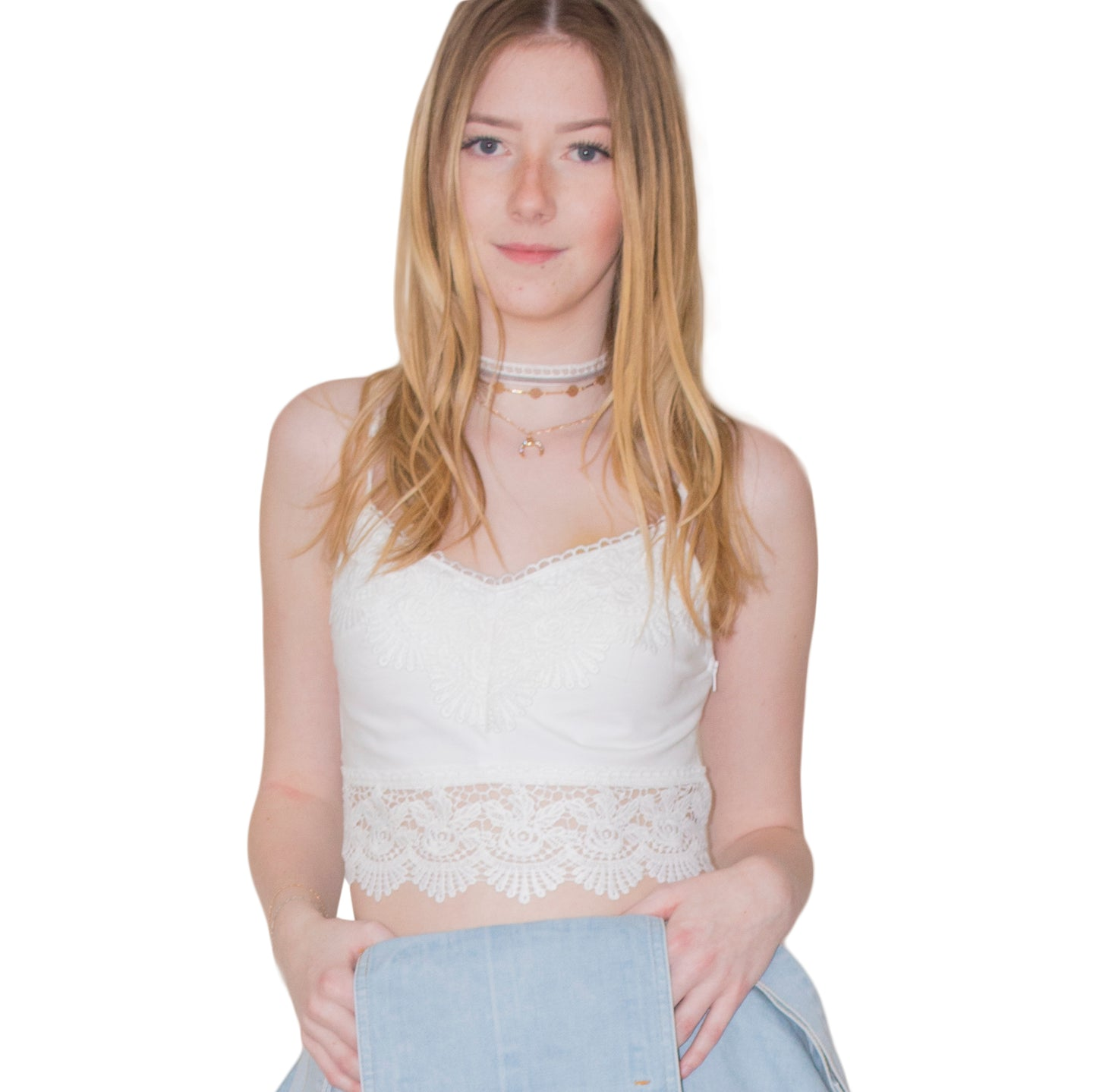 LACHERE White Bralette - LACHERE