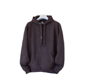LACHERE Basic Hoodie Oversized, Dark Grey