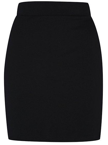 Black Mini Skirt - Size 12 - LACHERE