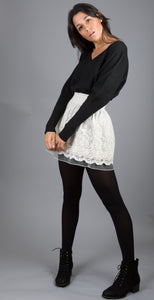 Lachere Black Jumper
