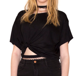 LACHERE Cropped Top