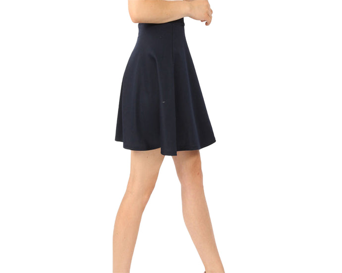 LACHERE High Waisted Skater Skirt