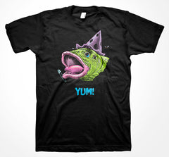 Yum Fish Head: Covered in Punk T-Shirt