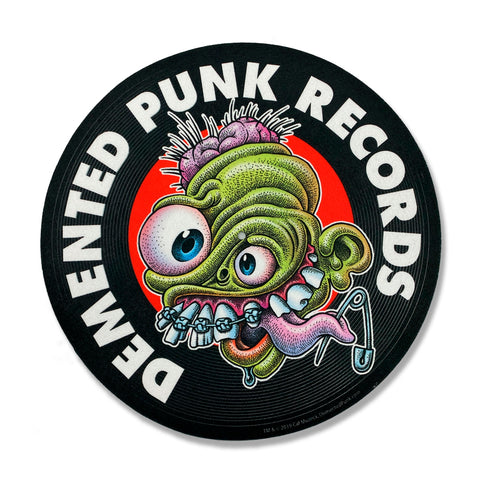 D-Punk Logo Turntable Slip Mat