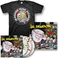 """Dr. Demento Covered in Punk"" - Ltd Ed Exclusive Variant Vinyl Bundle"