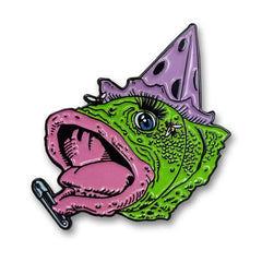Fish Head Enamel Pin