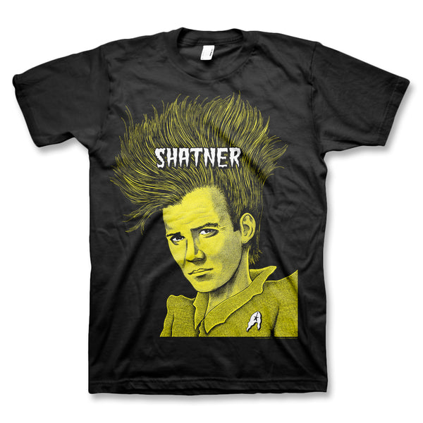 Shatner 'Covered in Punk' T-Shirt (Black)